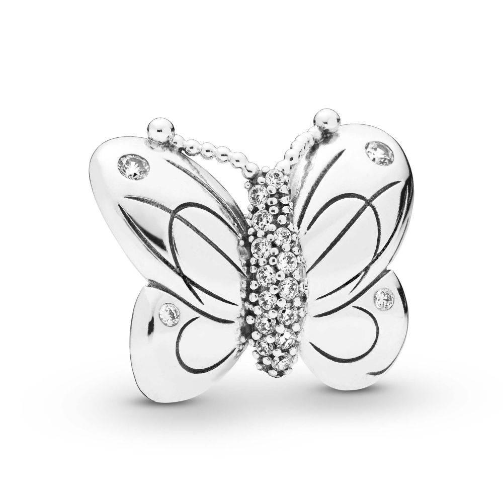 Diaoro Artikeldetail Damen Charm Clip Decorative Butterfly